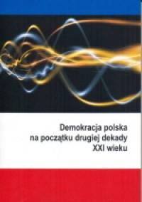 Demokracja polska na początku drugiej - okładka książki