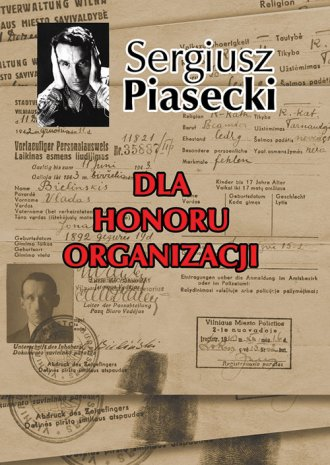 Dla honoru organizacji - okładka książki