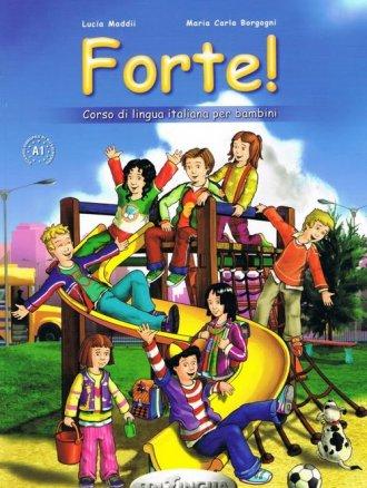Forte! 1. Język włoski. Podręcznik - okładka podręcznika