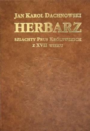 Herbarz szlachty Prus Królewskich - okładka książki