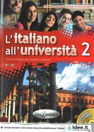 Italiano allUniversita 2. Język - okładka podręcznika