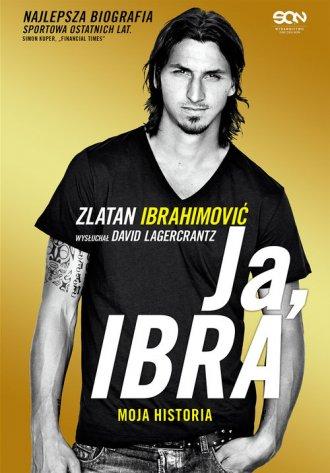 Ja, Ibra - okładka książki