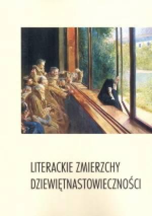 Literackie zmierzchy dziewiętnastowieczności - okładka książki