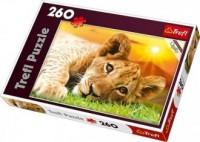 Lwiątko (puzzle 260-elem.) - zdjęcie zabawki, gry