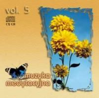 Muzyka medytacyjna vol. 5 - okładka płyty
