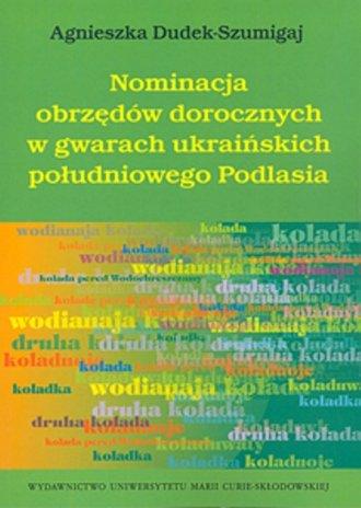 Nominacja obrzędów dorocznych w - okładka książki