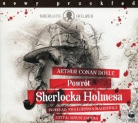 Powrót Sherlocka Holmesa (CD mp3) - pudełko audiobooku