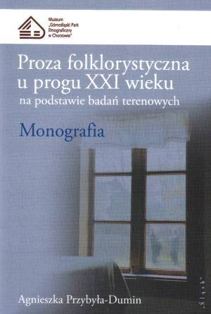 Proza folklorystyczna u progu XXI - okładka książki
