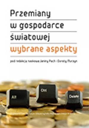 Przemiany w gospodarce światowej. - okładka książki
