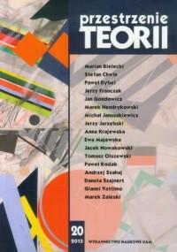 Przestrzenie Teorii 20/2013 - okładka książki