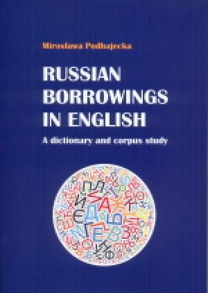 Russian borrowings in English: - okładka podręcznika