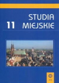 Studia Miejskie. Tom 11 - okładka książki