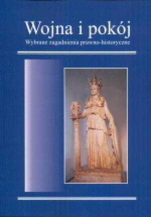 Wojna i pokój. Wybrane zagadnienia - okładka książki
