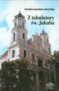 Z tabulatury św. Jakuba - okładka książki