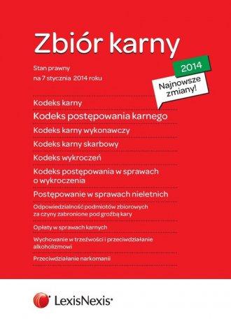 Zbiór karny 2014 - K.K., K.P.K., - okładka książki