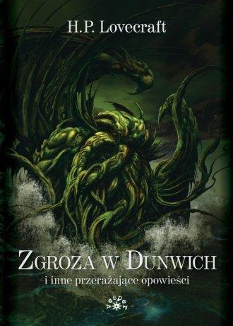 Zgroza w Dunwich i inne przerażające - okładka książki