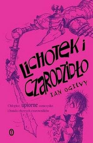 Lichotek i Czarodzidło - okładka książki