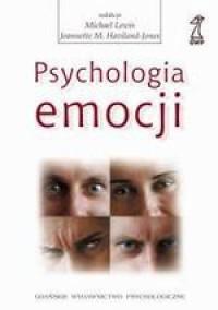 Psychologia emocji - okładka książki