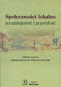 Społeczności lokalne: teraźniejszość - okładka książki