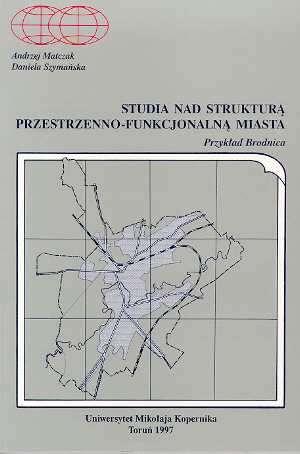 Studia nad strukturą przestrzenno-funkcjonalną - okładka książki