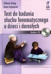 Test do badania słuchu fonematycznego - okładka książki