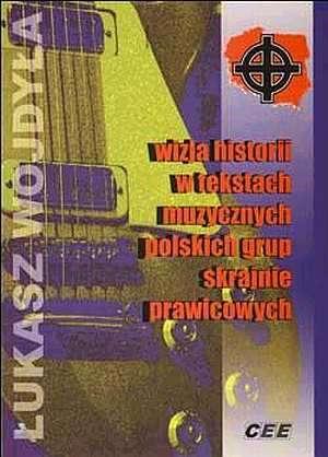Wizja historii w tekstach muzycznych - okładka książki