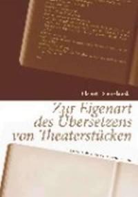 Zur Eigenart des Übersetzens von Theaterstücken - okładka książki