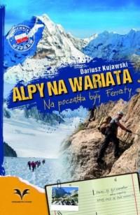 Alpy na wariata - okładka książki