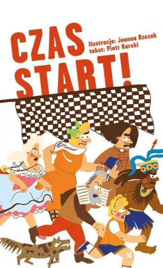 Czas start! - okładka książki