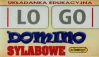 Domino sylabowe. Logo-pomoc - Wydawnictwo - zdjęcie zabawki, gry