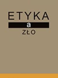 Etyka a zło - okładka książki