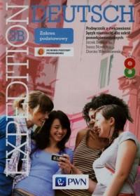 Expedition Deutsch 3B. Język niemiecki. Szkoła ponadgimnazjalna. Podręcznik z ćwiczeniami (+ 2CD). Zakres podstawowy - okładka podręcznika