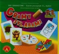 Gramy sylabami - Danuta Chwastniewska - zdjęcie zabawki, gry