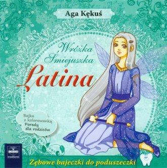 Latina Wróżka Śmiejuszka - okładka książki