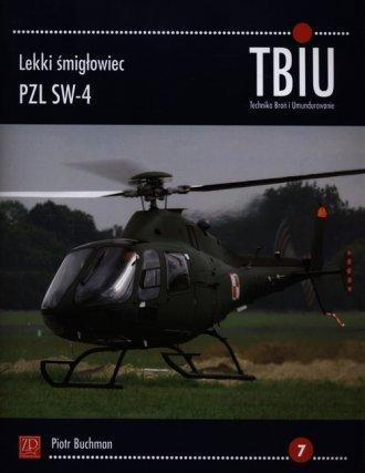 Lekki śmigłowiec PZL SW-4. TBiU - okładka książki