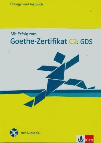 Mit Erfolg zum Goethe Zertifikat - okładka podręcznika