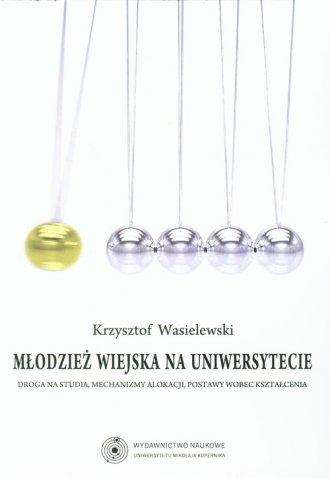 Młodzież wiejska na uniwersytecie. - okładka książki