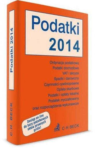 Podatki 2014 - okładka książki