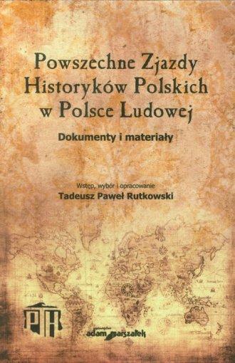 Powszechne Zjazdy Historyków Polskich - okładka książki