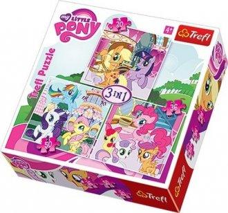 Rainbowdash i fluttershy (puzzle - zdjęcie zabawki, gry