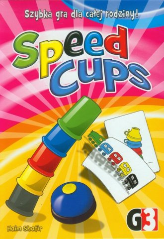 Speed cups. Gra - zdjęcie zabawki, gry