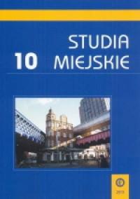 Studia Miejskie. Tom 10 - okładka książki