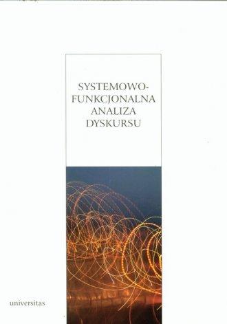 Systemowo-funkcjonalna analiza - okładka książki