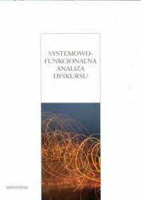 Systemowo-funkcjonalna analiza dyskursu - okładka książki