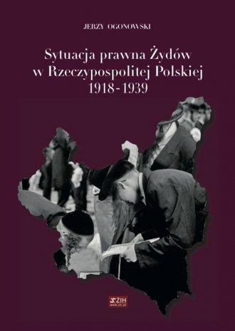 Sytuacja prawna Żydów w Rzeczypospolitej - okładka książki