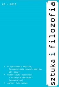 Sztuka i filozofia nr 43/2013 - okładka książki