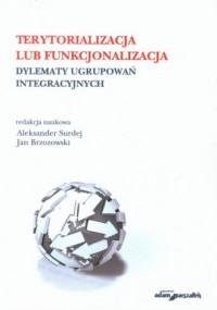 Terytorializacja lub funkcjonalizacja. Dylematy ugrupowań integracyjnych - okładka książki