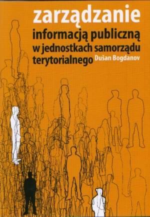 Zarządzanie informacją publiczną - okładka książki