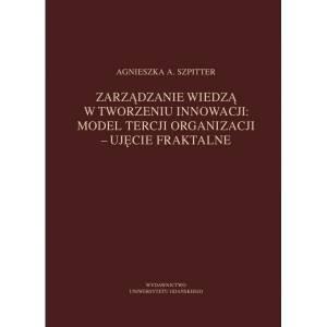 Zarządzanie wiedzą w tworzeniu - okładka książki