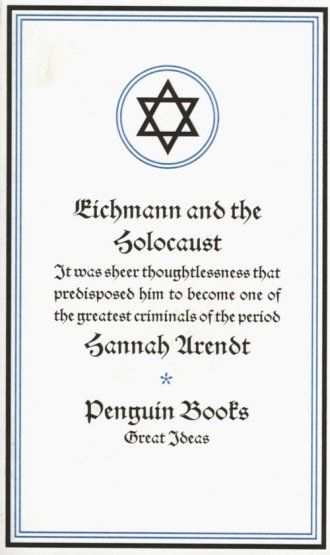 Eichmann and the Holocaust